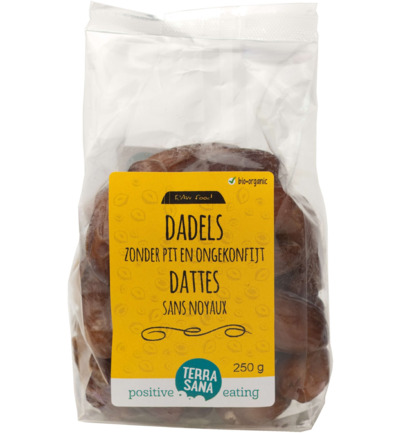 RAW Dadels zonder pit