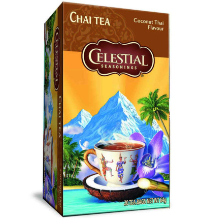 Chai tea coconut