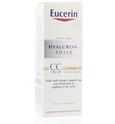 Hyaluron filler CC cream light