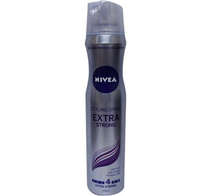 Hair care styling spray extra sterk