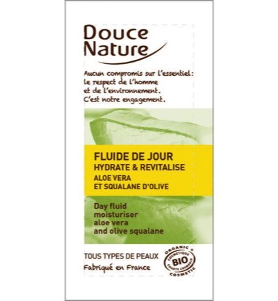 Sample aloe vera day fluid