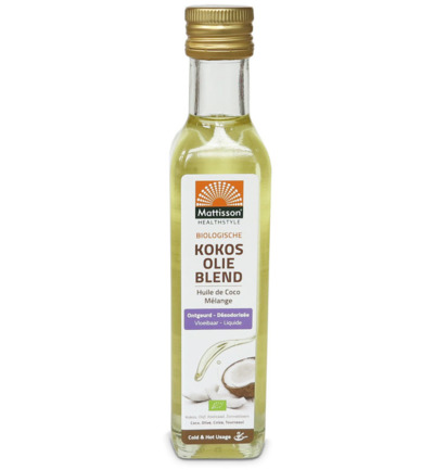 Mattisson Kokosolie blend ontgeurd bio 250ml