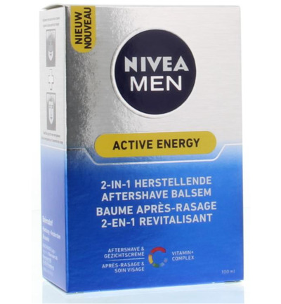 Men aftershave active energy 2in1