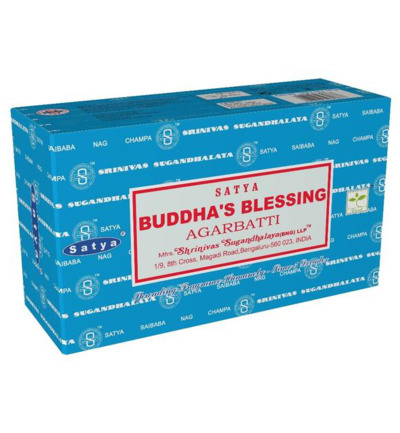Wierook Buddhas blessing