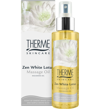 Massage olie zen white lotus