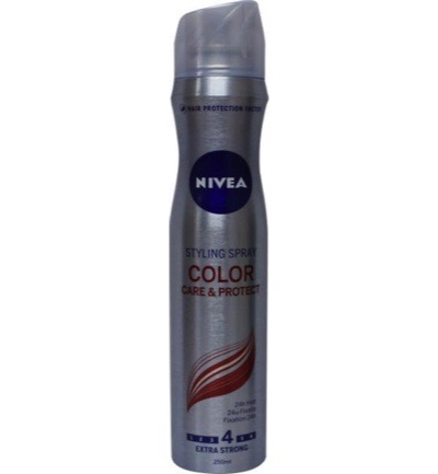 Hair care styling spray gekleurd haar