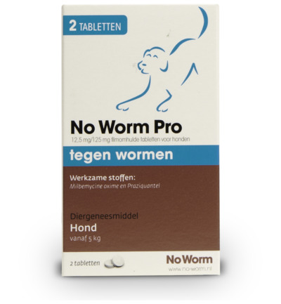 NO WORM PRO HOND MEDIUM
