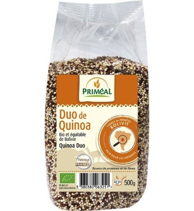 Quinoa duo white and red