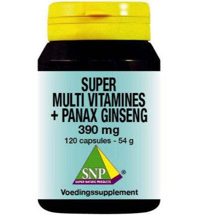 Super multi vitamines panax ginseng