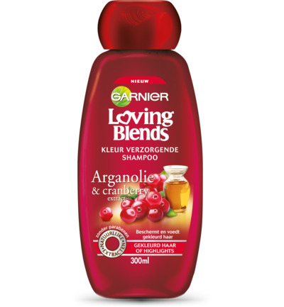 Loving blends shampoo cranberry argan