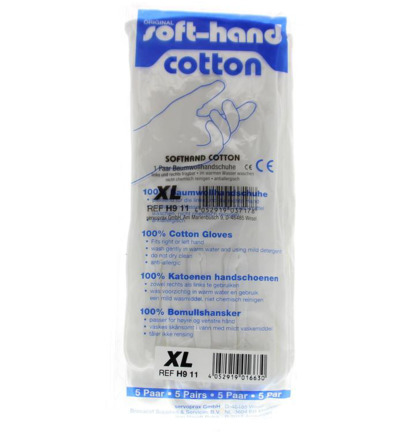 Verbandhandschoen soft cotton XL 14