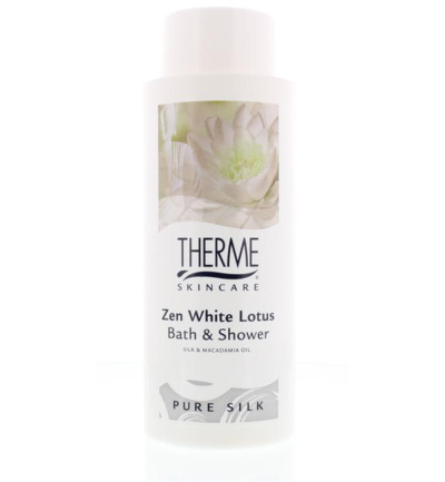 Bath & shower white lotus