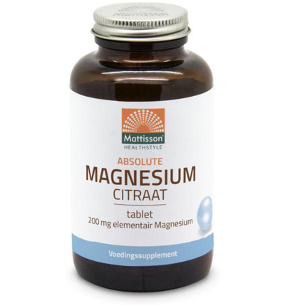 Magnesiumcitraat 200 mg elementair magnesium
