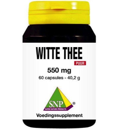 Witte thee 550 mg puur
