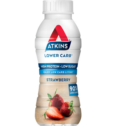 Atkins Ready To Drink Strawberry (330ml)