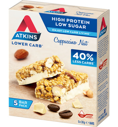Atkins Cappuccino Nut Repen (5x30g)
