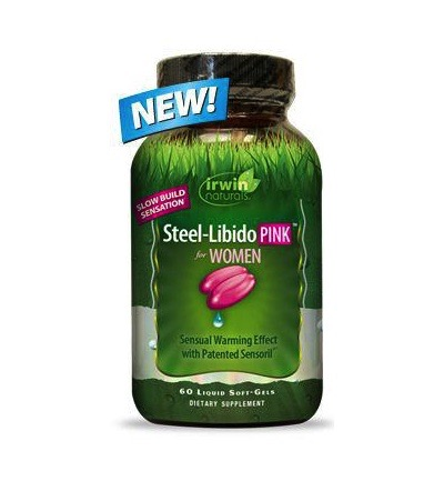Steel libido for woman pink