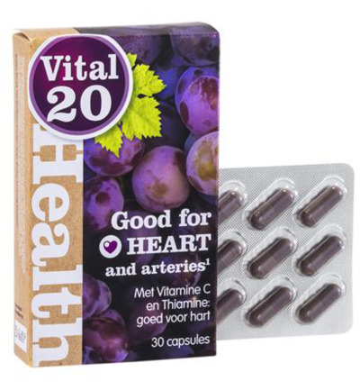 Polyphine heart resveratrol OPC druivenpit-schil
