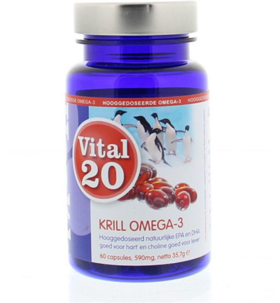 Krill olie omega-3 extra strong 500 mg MSC