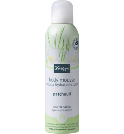 Body mousse patchouli