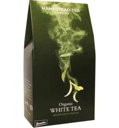 White leaf tea