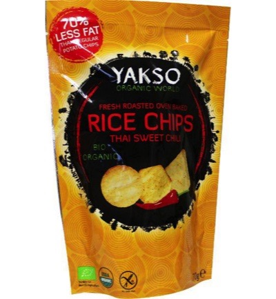 Rice chips thai chili