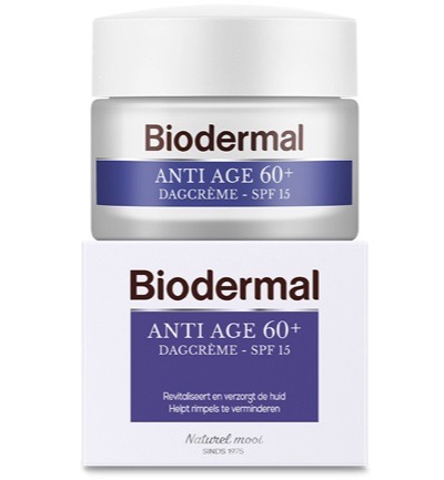 Biodermal Dagcreme Anti Age 60 (50ml)