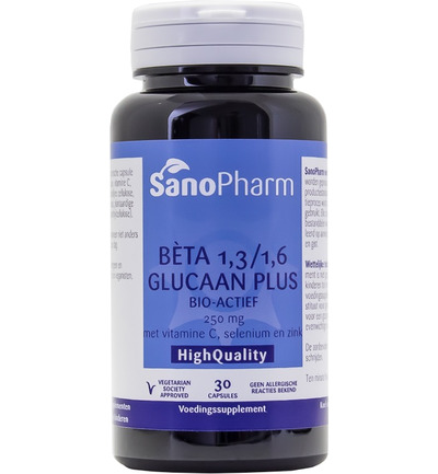 Betaglucaan plus 250 mg