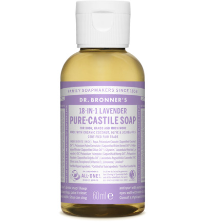 Liquid soap lavendel