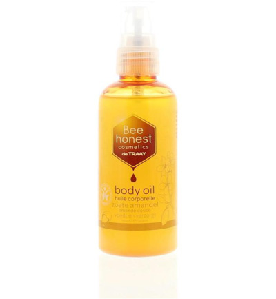 Body oil zoete amandel