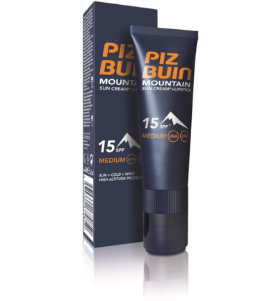 Mountain cream & stick SPF15