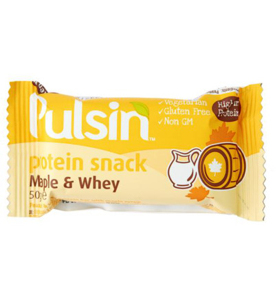 Protein snack maple & whey
