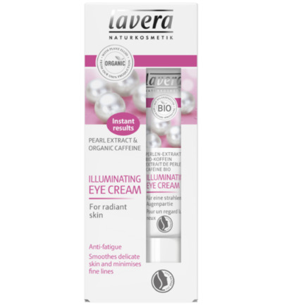Eye cream illuminating
