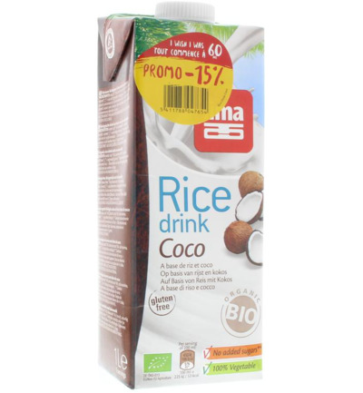 Rice drink coco -15%
