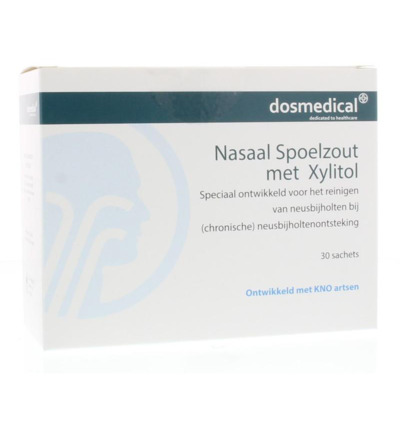Nasaal spoelzout 6.5 g xylitol