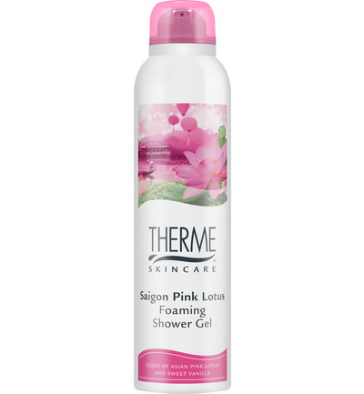 Foam shower Saigon pink lotion