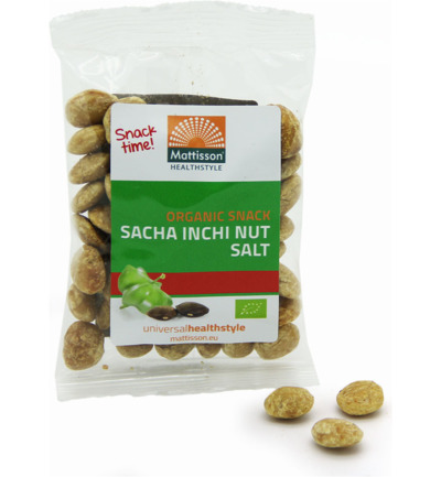 Sacha inchi noten snack zout