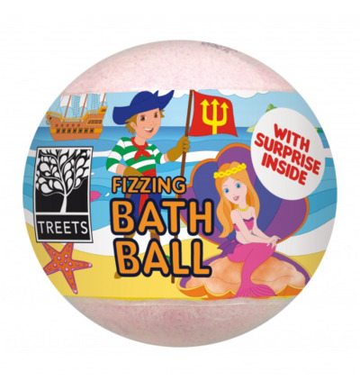 Bath ball with surprise boy/girl
