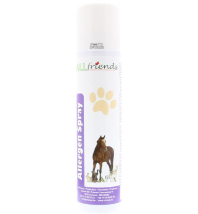 Animal allergen spray