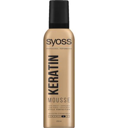 Mousse keratine haarmousse