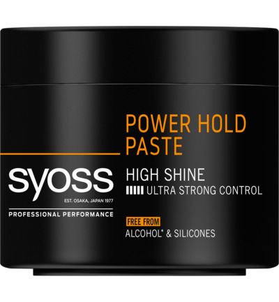 Men Power Hold Extreme Level 5 Styling Paste