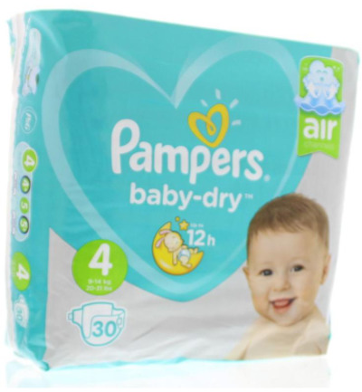 Pampers Baby Dry Maxi S4 Midpack (30st)