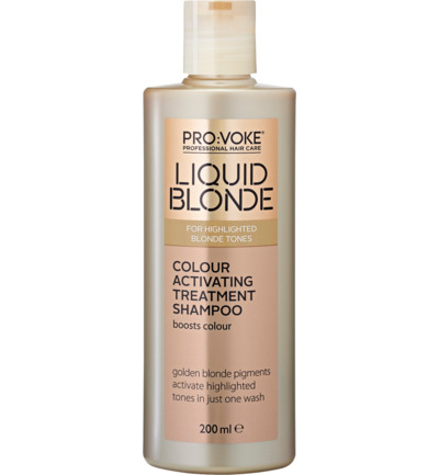 Blonde activ treat shampoo