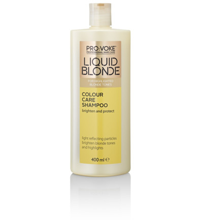 Blonde colour care shampoo