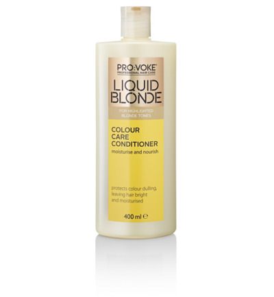 Blonde colour care conditioner