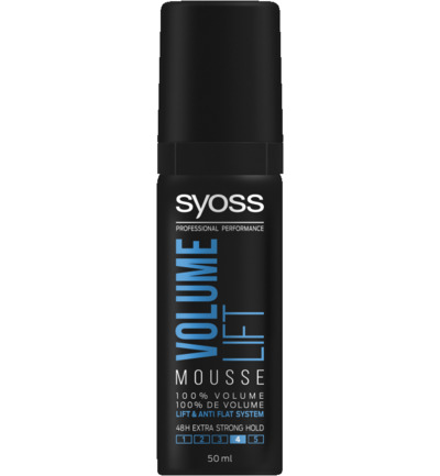 Mousse volume lift haarmousse mini