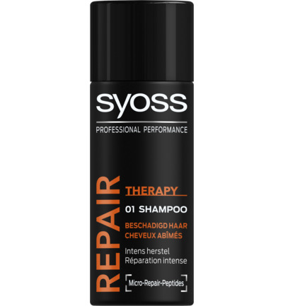 Repair therapy shampoo