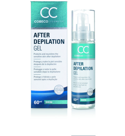 Afbeelding van Cobeco Cosmetic After Depilation Gel Bikini (60ml)