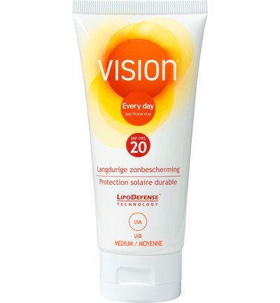 Vision Every Day Zonnebrand Sun Protection Factor(spf)20