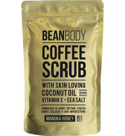 Body scrub manuka honey
